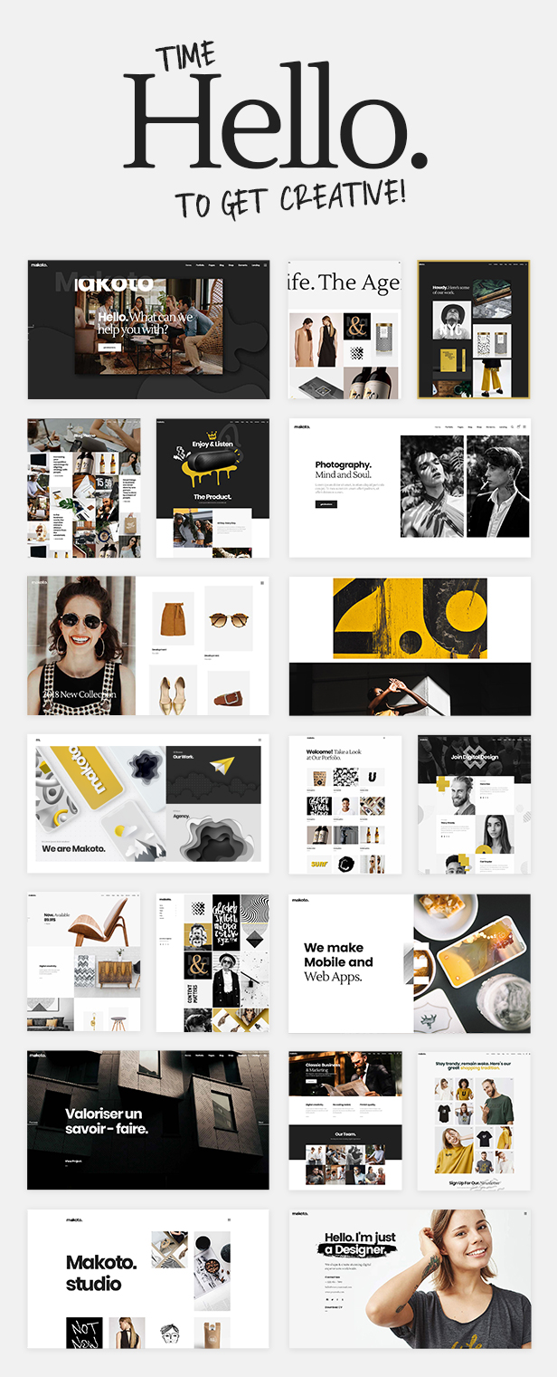 Makoto - Creative Multipurpose Theme - 1 Makoto – Creative Multipurpose Theme Nulled Free Download 03